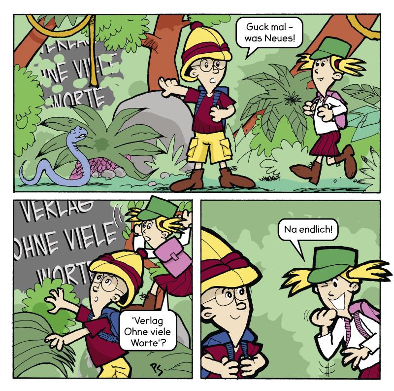 Comic von Start