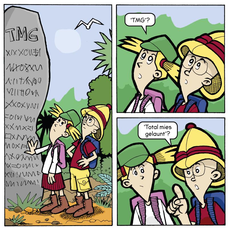 Comic von Impressum
